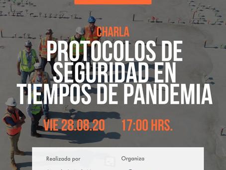 """MES DE LA MINERIA. SUTMIN REALIZA CHARLA """"PROTOCOLOS DE SEGURIDAD EN PANDEMIA"""""""