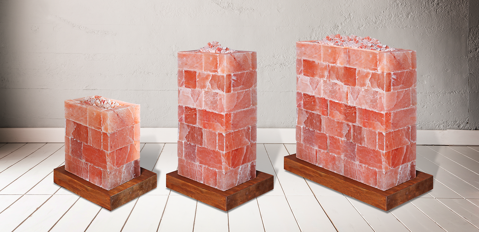 KHEW Himalayan Pink Salt Heaters