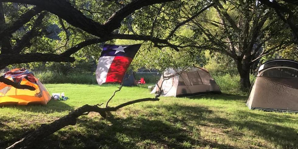 Colorado Bend State Park Camping Trip