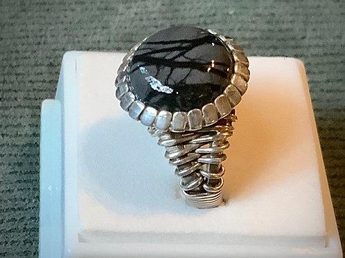 Picasso Jasper Ring sz5
