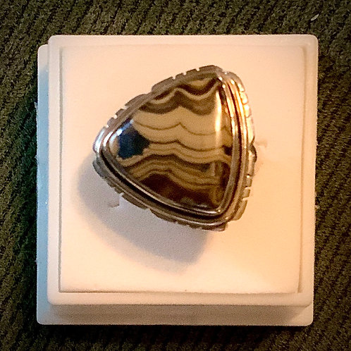 Schalenblende Ring Sz 6.5