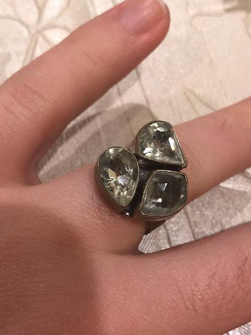 Triple Quartz Ring