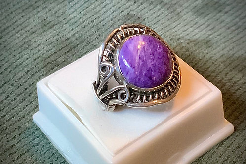 Charoite Ring  Sz4