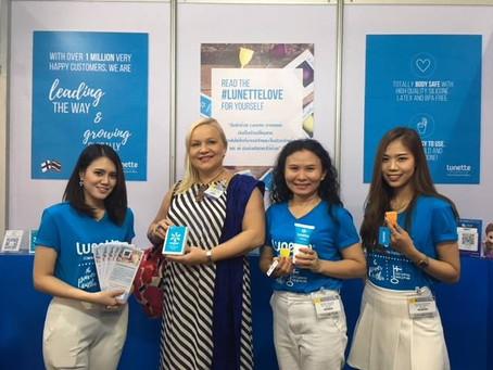 2561 / 2018 Lunette launches Eco-friendly, innovative feminine hygiene in Thailand!