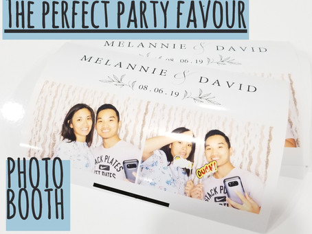 Photo Booth: The Perfect Party Favour for your next event!