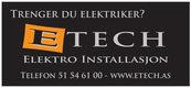 E Tech Elektro Installasjon
