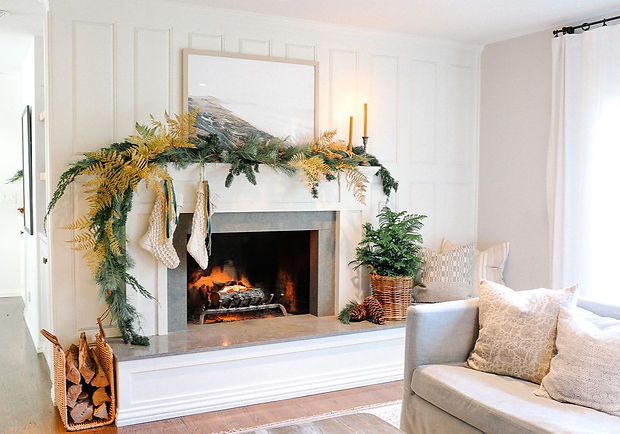 Holiday Home Tour: Organic-Luxe