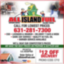$12 off oil delivery from All Island Fuel on Long Island, NY