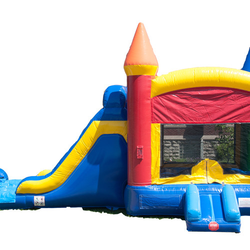castle slide and bouncer - Inflatable Bounce House