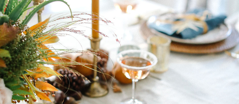 Holiday Table Design: Organic Luxe
