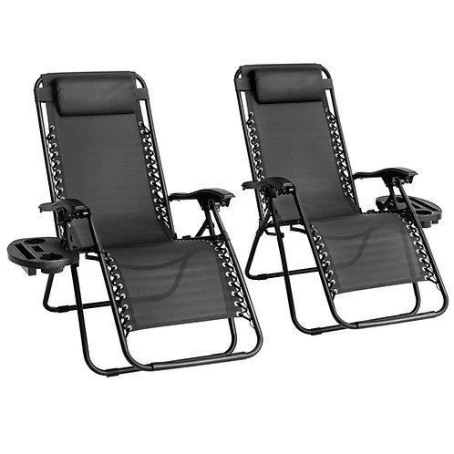 Straame Zero Gravity Chair Classic -Black