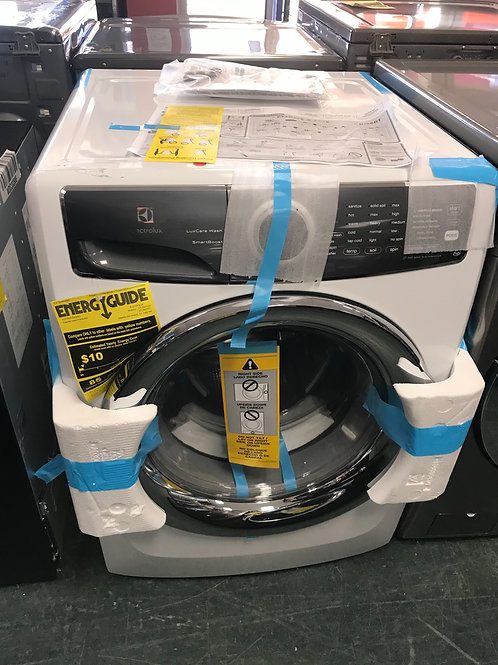 """Electrolux brand new open box graphite stackable washer 27""""."""
