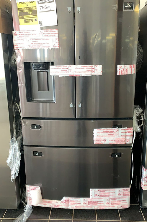 36BY69 NEW SAMSUNG FRENCH DOOR FRIDGE BLACK STAINLESS STEEL WITH WARRANTY