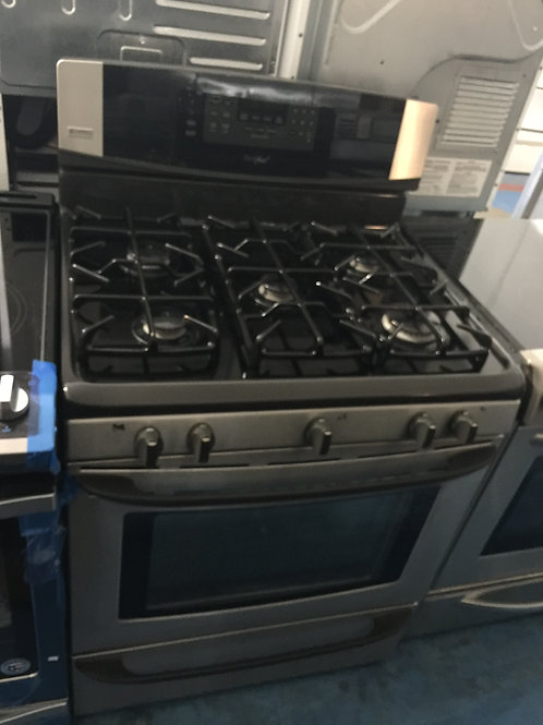 """30""""stainless gas stove 220v 90 days warranty"""