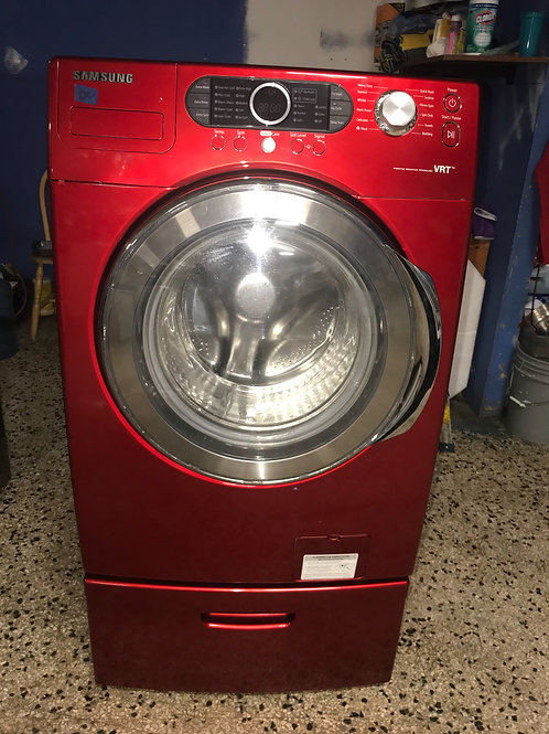 Samsung brand refurbished frontload washer works great.
