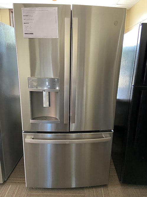 """36"""" ge new scratch dent stainless  Frenchdoor with warranty"""