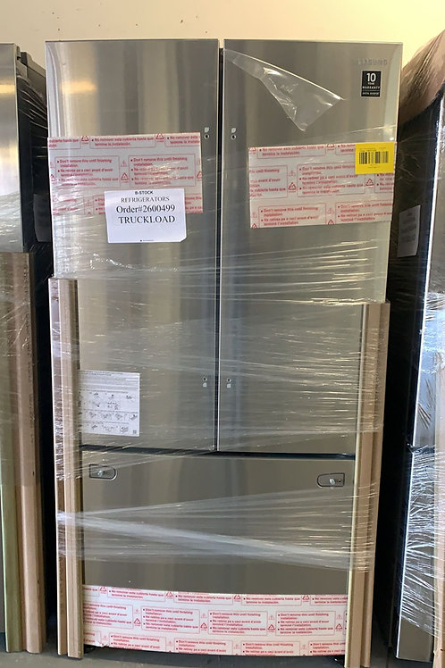 NEW 36BY69 FRENCH DOOR FRIDGE STAINLESS STEEL WITH WARRANTY