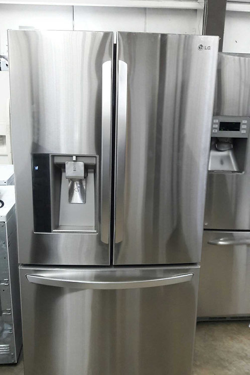 "36""width LG French door  fridge stainless steel"