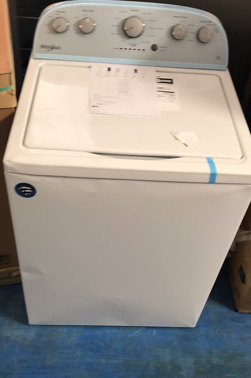 whirlpool new scratch dent top load washer with 6 months warranty