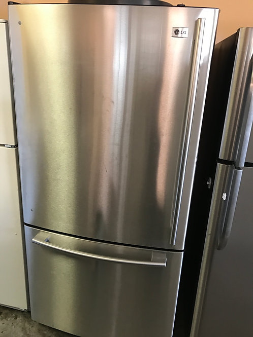 LG Stainless Steel Bottom Freezer