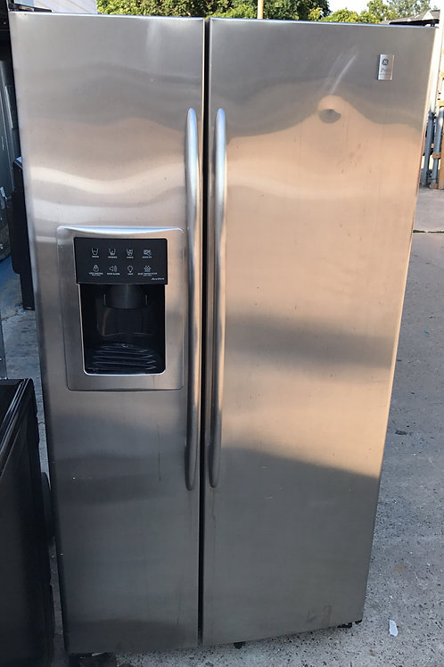 "33""Stainless sbs Fridge 90 Days Warranty"