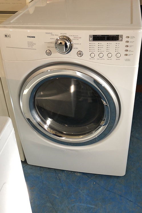 """27""""lg stackable washer dryer set great working order with 90 days warranty"""