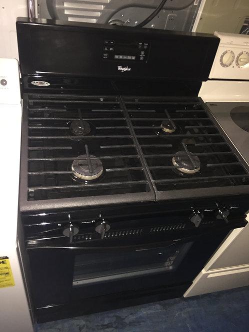 "30""whirlpool gas stove 90 days warranty"