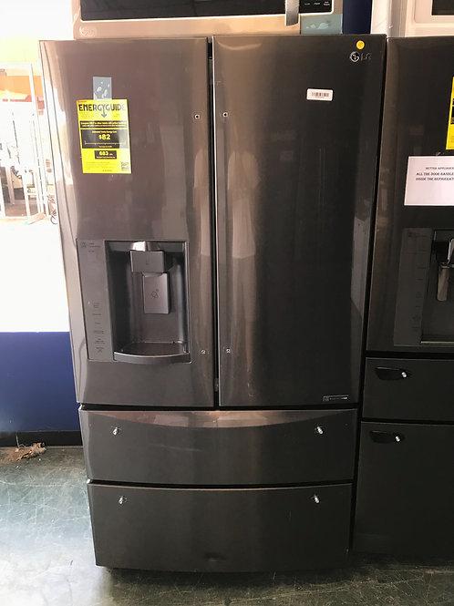 New Lg black stainless steel 4 door fridge