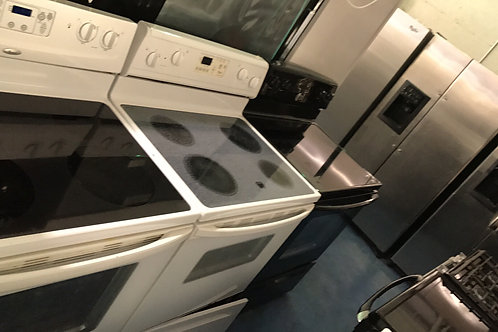 electric glass top stove great working order with 90 days warranty