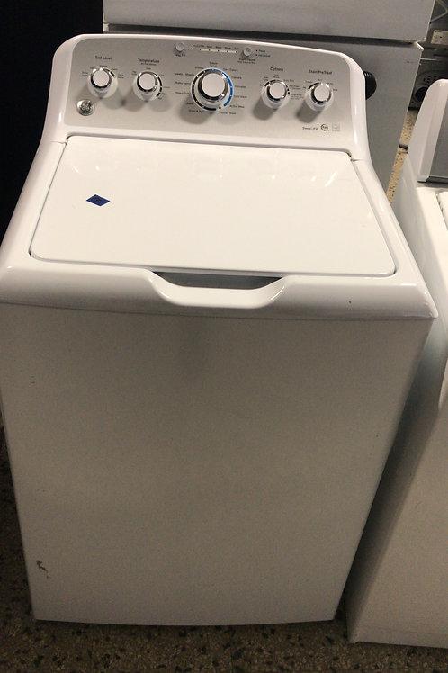 Ge brand refurbished top load washer works great 60 days warranty.