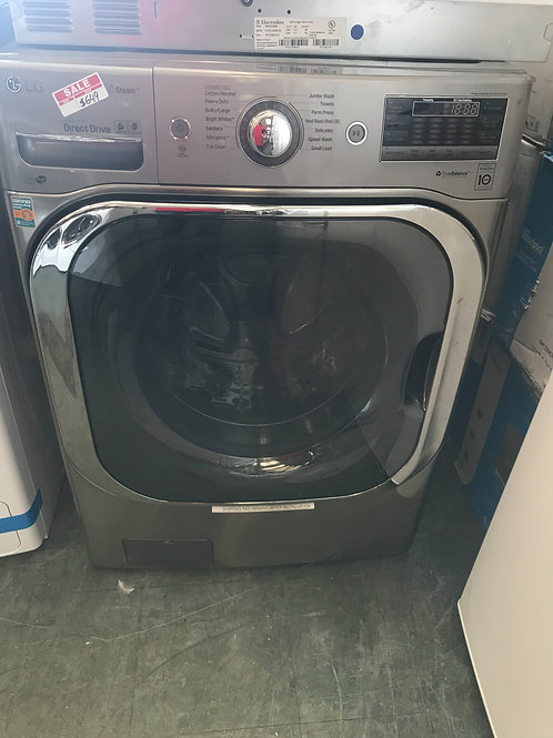 Lg brand new open box graphite jumbo washer with big drum.