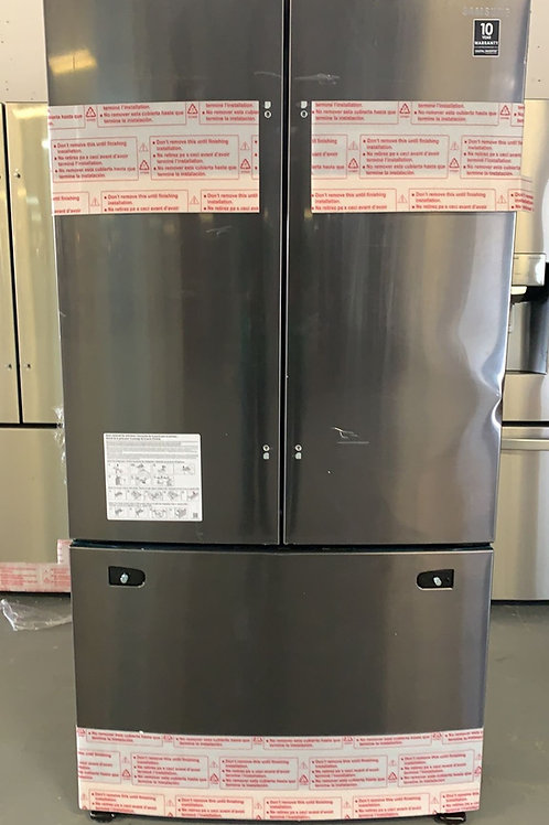 """Samsung new scratch and dent 36"""" blk stainless refrigerator with 1 year warranty"""