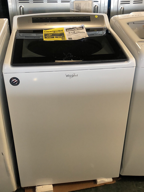 Brand new whirpool Black Glass top load washer with One year warranty