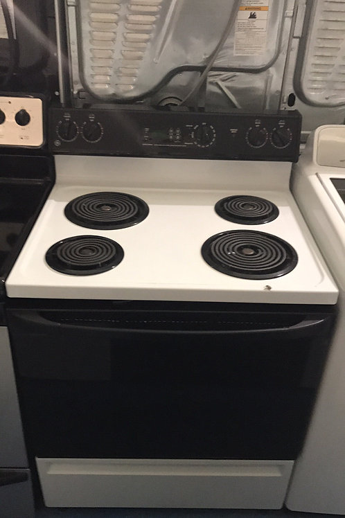GE COIL TOP ELECTRIC STOVE GREAT WORKING 90 DAYS WARRANTY