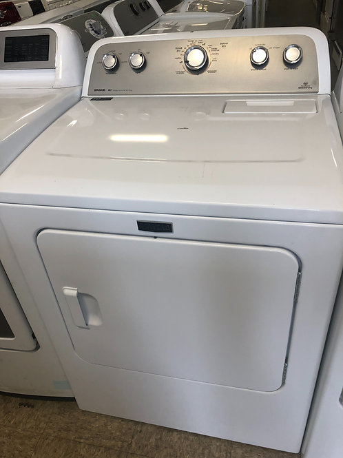 "27"" NEW MAYTAG FRONT LOAD ELECTRIC DRYER WITH ONE YEAR WARRANTY"
