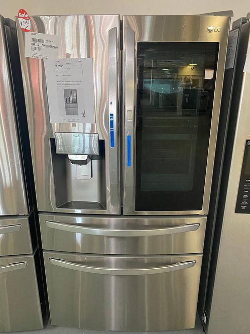 lg stainless steel four door iin door fridge with warrnty
