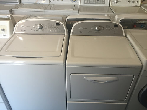 WHIRLPOOL CABRIO WASHER DRYER SET GREAT WORKING OREDR WITH 90 DAYS WARRANTY