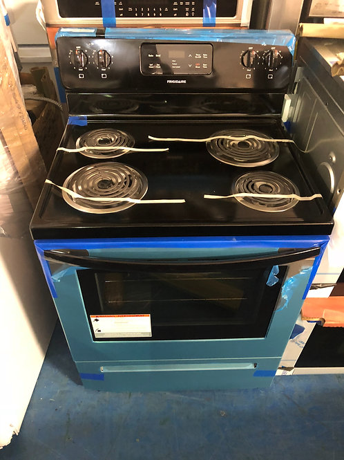 Brand new stainless coil top electric stove with 1 year warranty