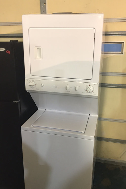 """27""""ge Stackunit Washer Dryer Great Working Order With 90 Days Warranty"""