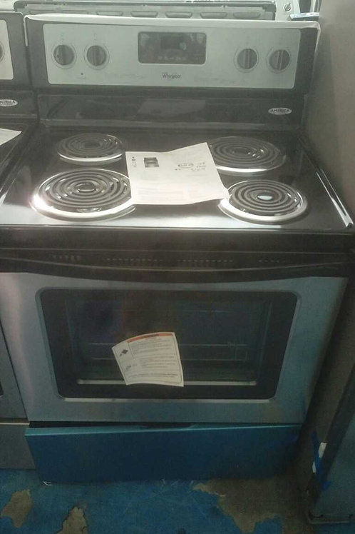 whirlpool stainless Steel coil top