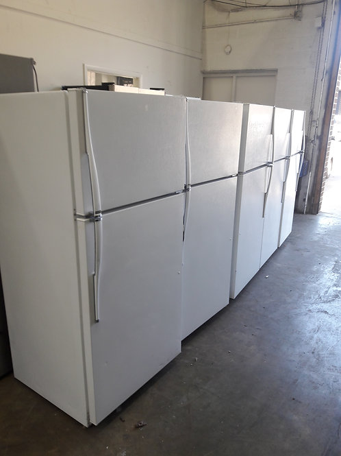 "28""width and 62"" height top and bottom fridge"