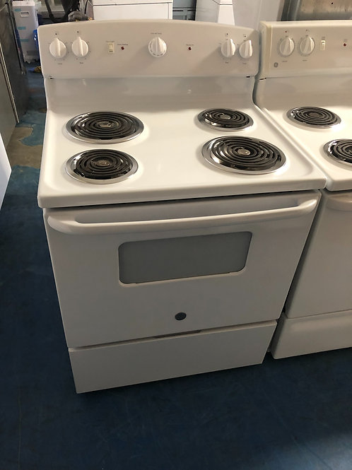 Ge electric coil top stove great working order 90 days warranty
