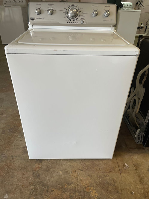 maytag top load washer use with warrnty