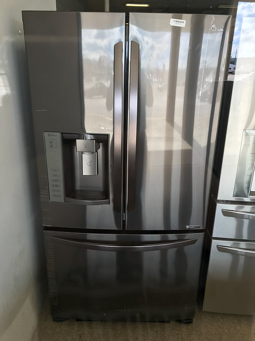 36x69 Black Stainless Steel LG French Door Fridge