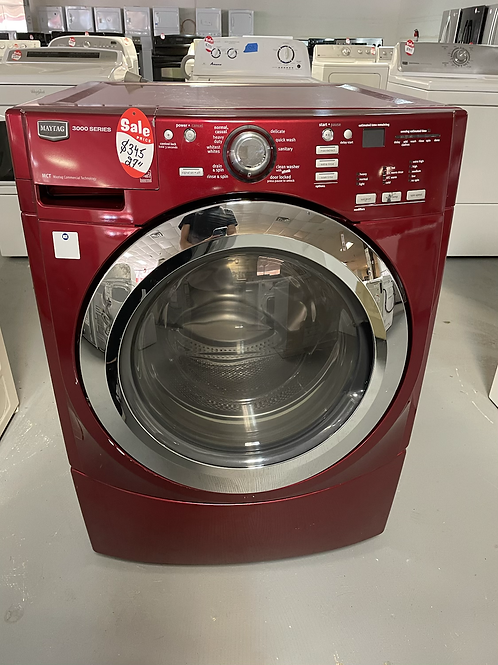 Maytag frontload 4.5cuft stackable washer working condition with warranty.