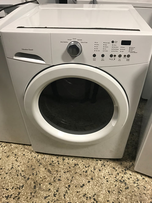 "Frigidaire brand refurbished frontload washer 27"" works great."