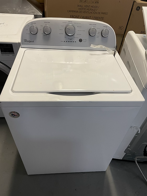 Whirlpool top laod washer dryer set HE working condition with warranty.