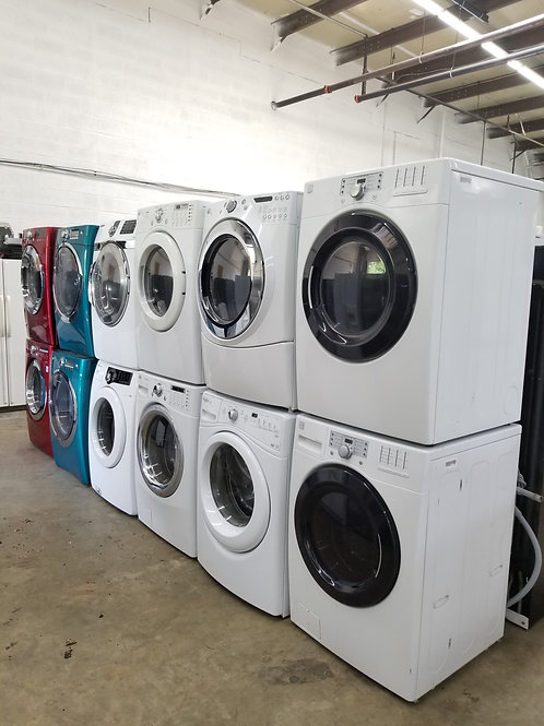 nice front load washer and dryer set starting $449