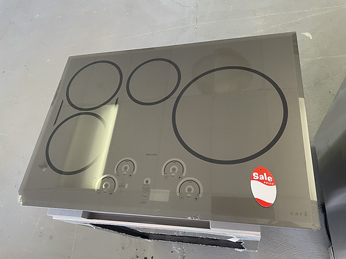 """Ge cafe 30"""" Open box scratch and dent Induction Cooktop Electric As is."""