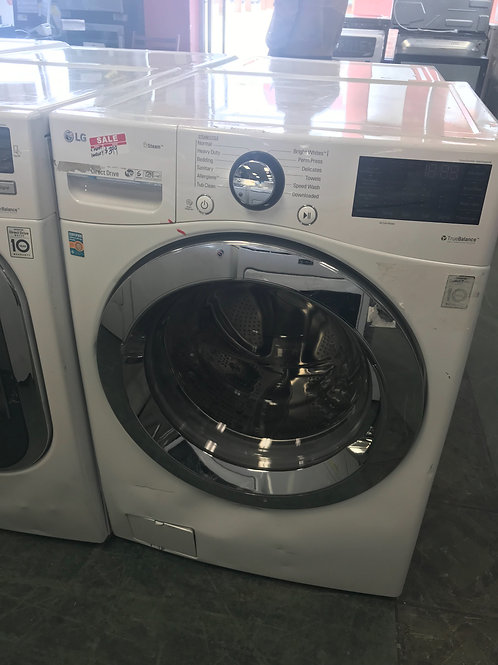 LG brand new frontload washer scratch and dent works great 4 months warranty.